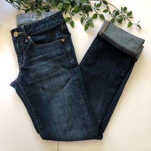 Gap Jeans Straight Leg Dark Wash size 26 2r